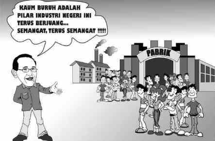 Aburizal Bakrie dan Buruh