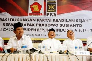 PKS Berkoalisi dengan Gerindra