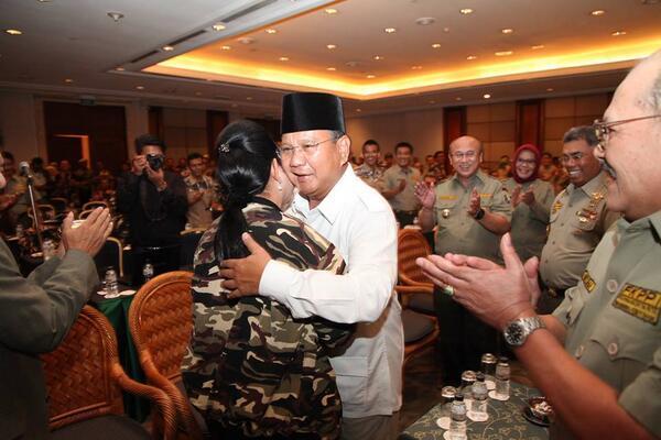 Prabowo & Titiek Soeharto
