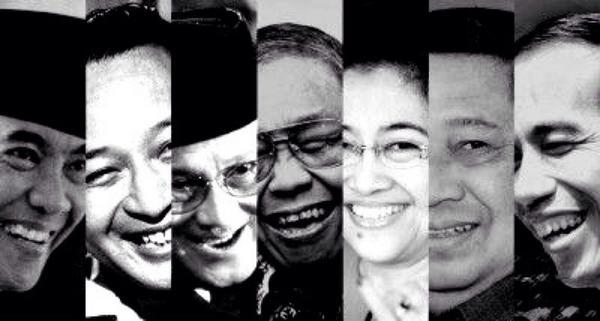 Presiden Indonesia dari masa ke masa (Photo: Arbain Rambey)