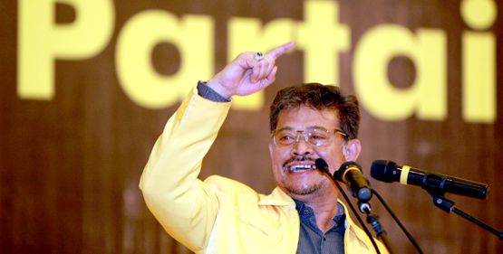 Ketua DPD I Golkar Sulawesi Selatan Syahrul Yasin Limpo