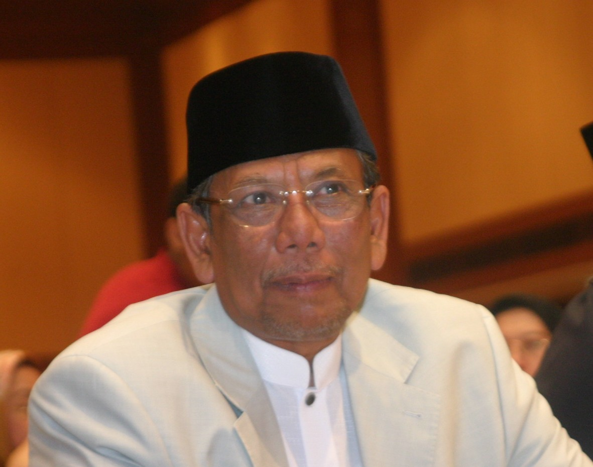 Sekretaris Jenderal International Conference for Islamic Scholars (ICIS), KH Hasyim Muzadi
