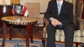 Duta Besar Rusia untuk Indonesia Mikhail Yurievich Galuzin. MI/Mohamad Irfan