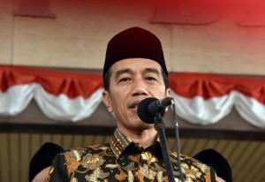 Presiden saat memberikan keterangan pers, Kamis (24/8) kemarin. (Foto: Humas/Jay)
