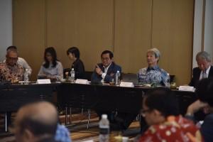 Seskab saat menghadiri Asian Statesmen's Forum (ASF) ke-16, di Hotel Pullman, Jakarta, Jumat (26/8). (Foto: Humas/Oji)