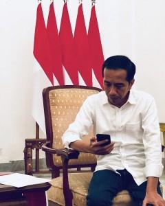 Presiden Jokowi (foto: Twittwr @jokowi)