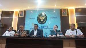 Menko Polhukam Wiranto saat memberikan keterangan pers di kantor Kemenko Polhukam, Jakarta, Senin (1/10). (Foto: Kemenko Polhukam)