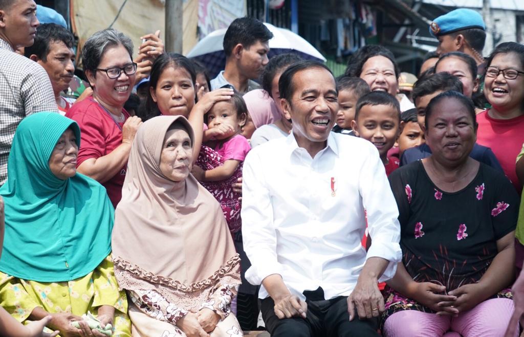Pemilu Usai, Presiden Jokowi: Mari Bersatu Bangun Bangsa dan Tanah Air