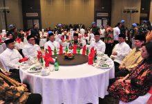 Didampingi Menperin, Menkeu, dan Seskab, Presiden Jokowi Hadiri Buka Bersama Kadin