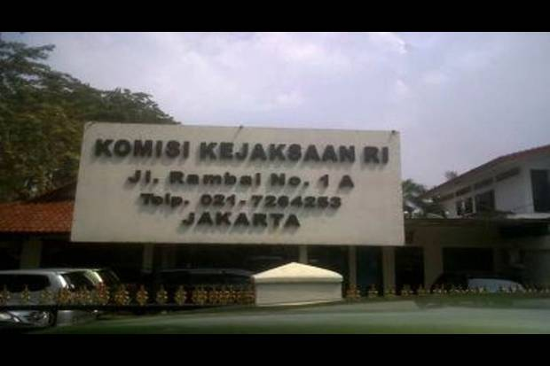 Kantor pusat Komisi Kejaksaan Republik Indonesia di Jl. Rambai No. 1 A, Kebayoran Baru, Jakarta Selatan, Indonesia.