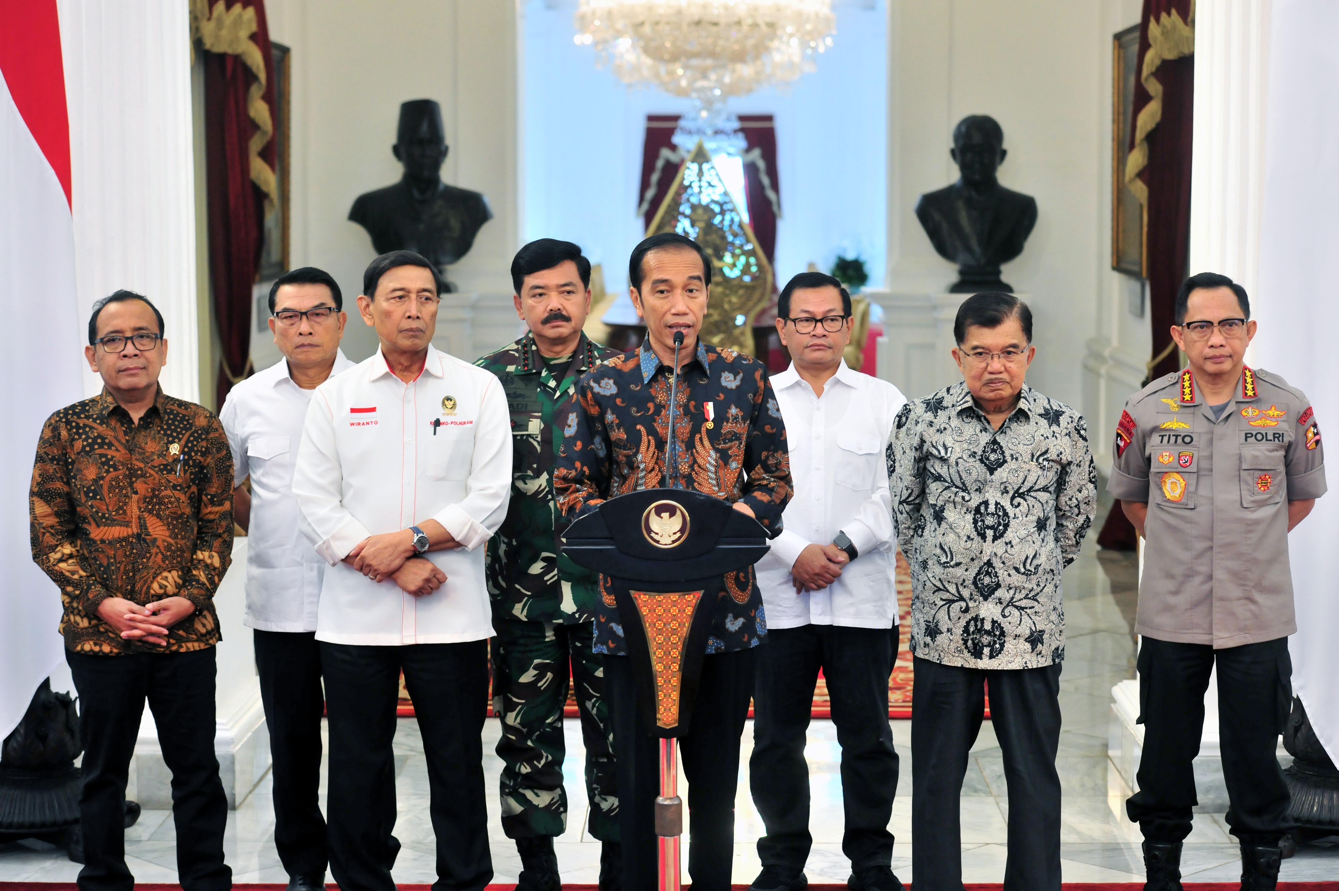 Situasi Terkendali, Presiden Jokowi Tegaskan Tidak Akan Beri Ruang Untuk Perusuh