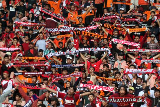 The Jak Mania Suporter Fanatik Persija Jakarta (ist)