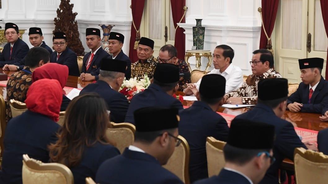Presiden Jokowi Beri Dukungan bagi Delegasi Indonesia di Kompetisi WorldSkills 2019