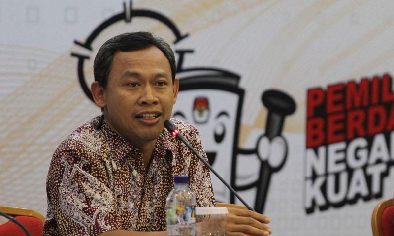 Komisioner KPU Pramono Ubaid Thantowi