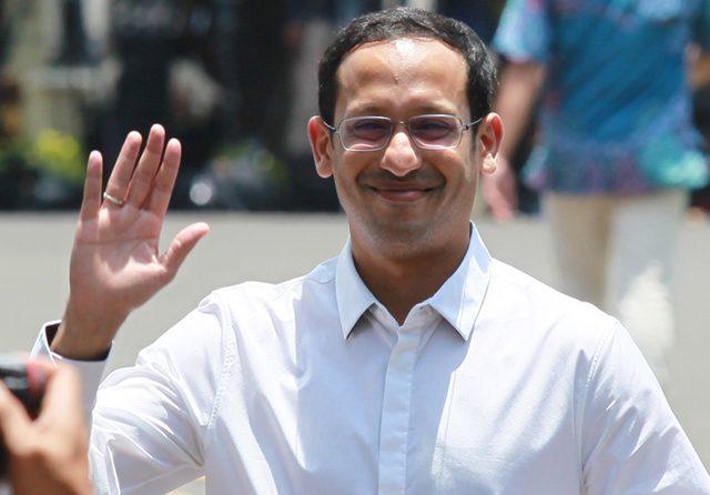 Nadiem Makarim Anwar sore ini dikabarkan akan dilantik sebagai Mendikbudristek