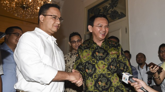 Image result for ahok anies