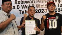 Deklarasi dukungan BOEDOET di Rumah Kerja Pemenangan Ben-Pilar, Melati Mas, Serpong Utara, Kamis (27/8) malam.