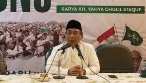 Katim Aam PBNU, KH Yahya Cholil Staquf