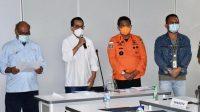 Kemenhub Bersama Stakeholder Sampaikan Kronologis Sementara Pesawat Sriwijaya Yang Hilang Kontak