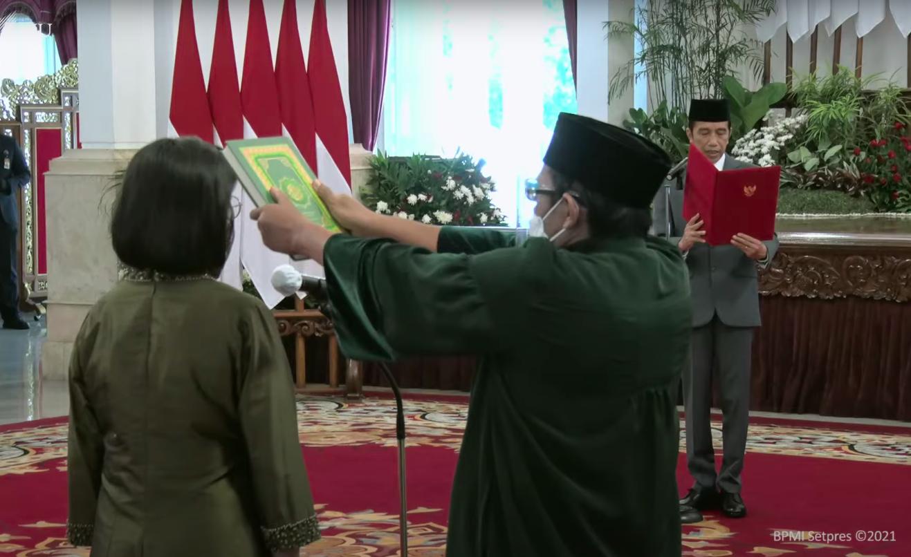 Presiden Jokowi Lantik Anggota Dewan Pengawas LPI