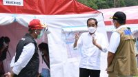 Presiden Kunjungi Posko Pengungsian Mamuju dan Pastikan Bantuan bagi Warga Terdampak Gempa