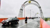 Resmikan Ruas Tol Kayu Agung-Palembang, Presiden: Sambungkan Dengan Sentra Perekonomian