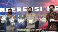 Polisi Ungkap Penyelundupan 353 Kg Sabu Jaringan Internasional