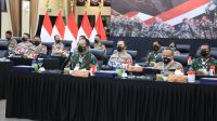 Rapim TNI-Polri 2021 : Bahas Penanggulangan Covid hingga Pemulihan Ekonomi Nasional