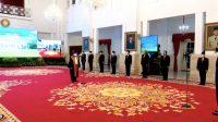Presiden Saksikan Pengucapan Sumpah Andi Samsan Nganro Sebagai Wakil Ketua MA