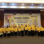 Airin Rachmi Diany saat melakukan silaturahmi dan konsolidasi PP KPPG dengan Pimpinan Daerah (PD) KPPG Provinsi Banten di salah satu hotel di Kota Serang, Kamis (2942023)