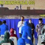 Temui Keluarga Korban Nanggala 402, Jokowi Janji Akan Bangunkan Rumah