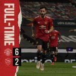 Sadis! Manchester United Cukur AS Roma 6-2