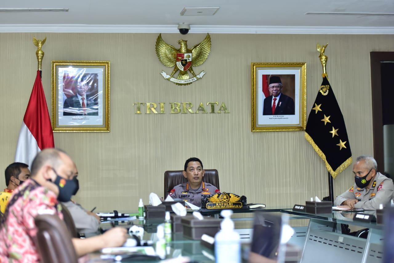 Audiensi Ketua SKK Migas, Kapolri Tekankan Pendampingan Untuk Sehatkan Iklim Investasi