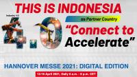 Menperin: Hannover Messe 2021 Momentum Indonesia Tunjukkan Kemampuan Menuju Industri 4.0