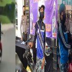 Polisi Beri Pemotor Duduk Sila-Lepas Stang di Tangsel Motor Baru, Juga Diangkat jadi Duta Keselamatan Lalin