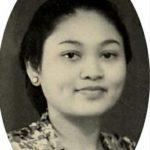 Potret lawas ibu Tien Soeharto. Foto@tututsoeharto