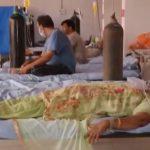 Pasien Covid-19 India dirawat di Masjid Jahangirpura. Foto: tangkapan layar akun Youtube indiatvnews.com
