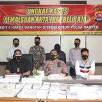 Polda Banten mengungkap kasus mafia tanah pembuatan AJB Palsu.