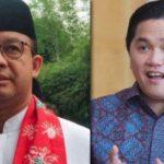 Pilpres 2024: Anies Baswedan-Erick Thohir Punya Mimpi Sama