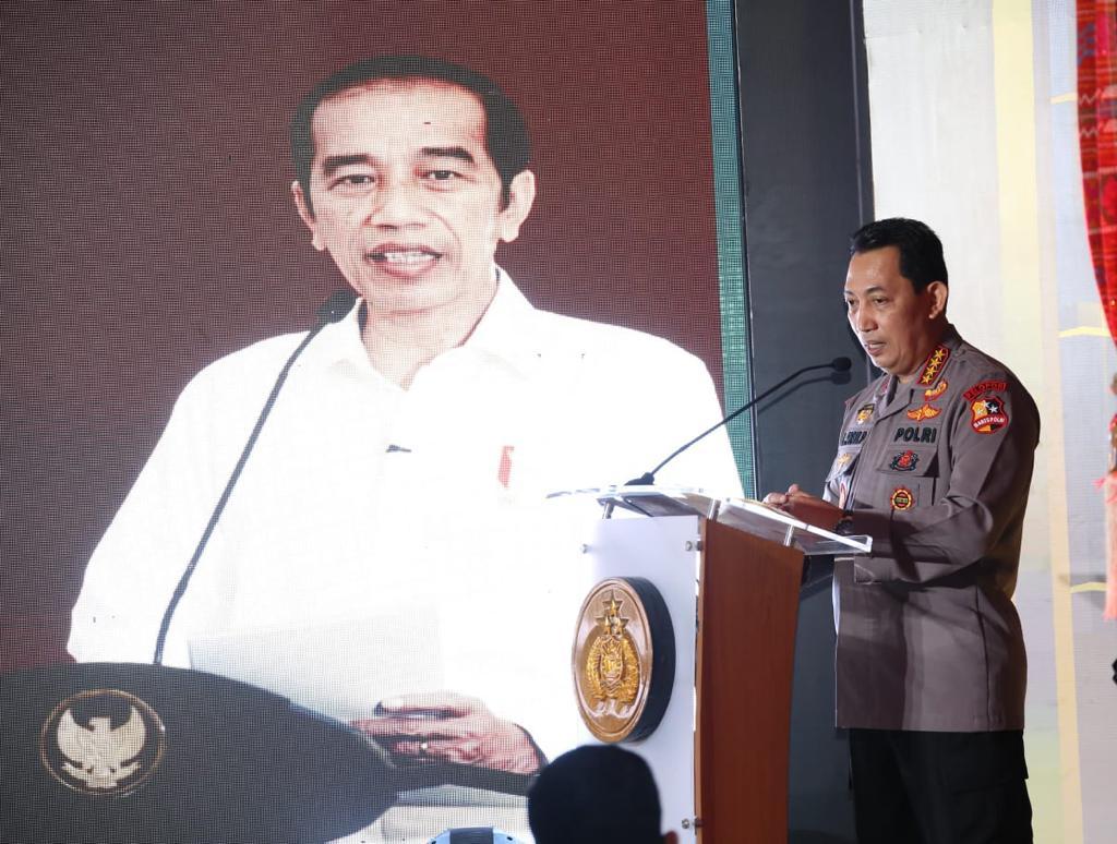 Presiden Harap Kehadiran TV dan Radio Polri Berikan Informasi Positif Untuk Masyarakat