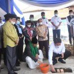 Peletakan Batu Pertama Masjid Jamik Tjik Luwi Al Murhaniah, Ini Pesan HD