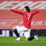 Cetak 2 Gol Kontra AS Roma, Cavani Dianggap Striker Sejati Yang Dirindukan Setan Merah