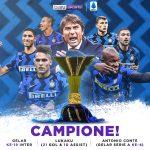 Selamat! Inter Milan Resmi Raih Gelar Scudetto 2020/21