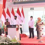 Presiden Jokowi Resmikan PSEL Surabaya, Kamis (6/5/2021).