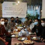 Tasyakuran Munarman Ditangkap. Foto: akun @m1n4_95