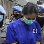 Nani Aprilliani, tersangka kasus sate beracun yang merenggut nyawa anak seorang tukang ojek.