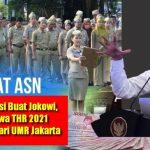 """Viral.. Ribuan Orang Dukung Petisi """"THR & Gaji-13 ASN 2021 Lebih Kecil dari UMR Jakarta"""""""