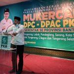 Ketua DPW Banten Ahmad Fauzi
