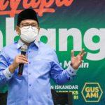 Wakil Ketua DPR Abdul Muhaimin Iskandar atau akrab disapa Gus AMI