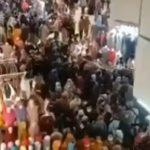 Video pengunjung di Pasar Tanah Abang.(red)